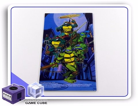 Manual Tmnt Mutant Melee Original Gamecube - comprar online