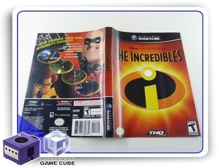 Encarte The Incredibles Original Gamecube