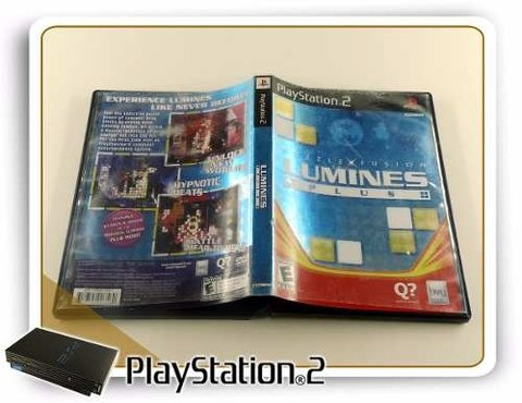 Puzzle Fusion Lumines Plus Original Playstation 2 PS2 - comprar online