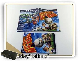 Encarte E Manual Chicken Little Original Playstation 2 Ps2