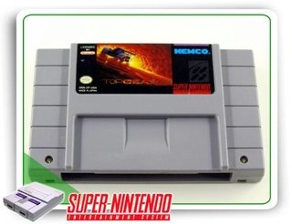 Top Gear 2 Original Snes Super Nintendo