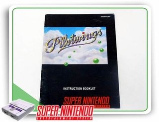 Manual Pilotwings Original Super Nintendo Snes