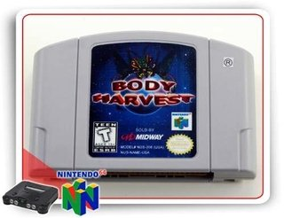 Body Harvest Original Nintendo 64 N64