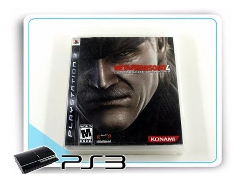 Metal Gear Solid 4 Original Playstation 3 PS3