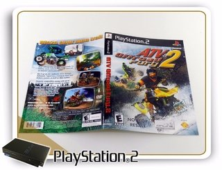 Encarte Atv Off Road Fury 2 Original Playstation 2 Ps2