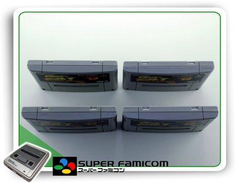 Street Fighter 2 Original Super Famicom Sfc - Radugui Store