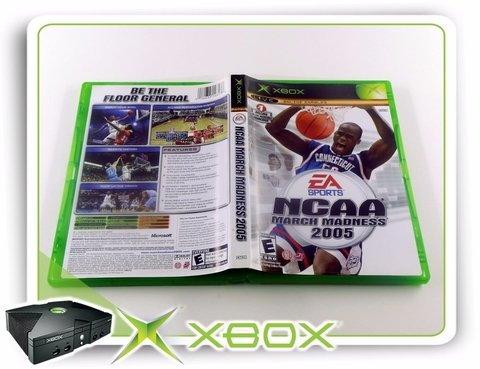 Ncaa March Madness 2005 Original Xbox Clássico Ntsc - comprar online