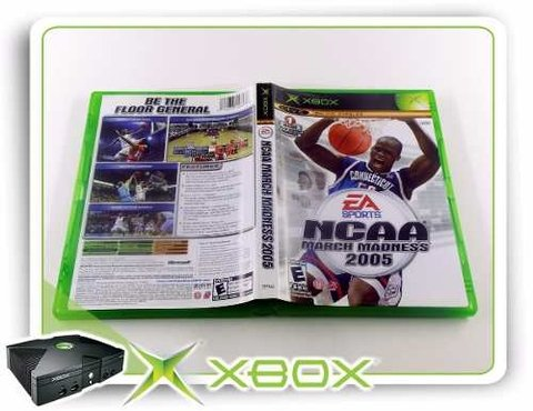 Ncaa March Madness 2005 Original XBOX Clássico - comprar online