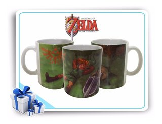 Caneca De Porcelana Legend Of Zelda Link