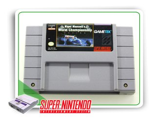 Nigel Mansells World Championship Original Super Nintendo