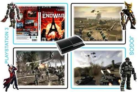 Tom Clancys Endwar Original Playstation 3 PS3 - Radugui Store