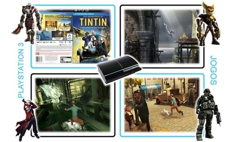 Ps3 The Adventures Of Tintin Original Playstation 3 - Radugui Store