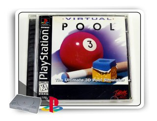 Virtual Pool Original Playstation 1 Ps1