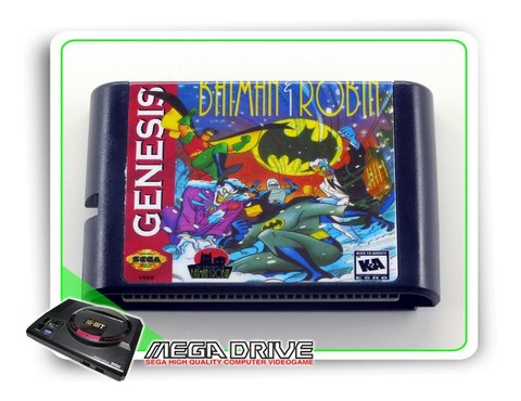 The Adventures Of Batman & Robin Sega Mega Drive - Novo