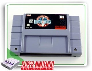 Brunswick World Tournament Of Champions Original Snes