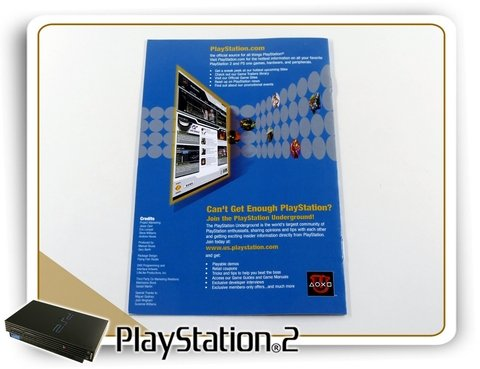 Encarte E Manual Jampack Demo Disc Volume 12 Original Ps2 - comprar online