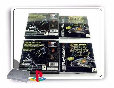 Star Wars Rebel Assault 2 Original Playstation 1 PS1 - comprar online