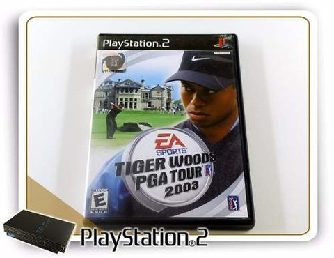 Tiger Woods Pga Tour 2003 Original Playstation 2 PS2