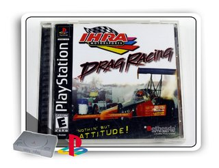Ihra Drag Racing Original Playstation 1 Ps1