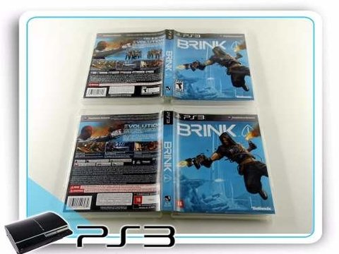 Brink Original Playstation 3 PS3 - comprar online