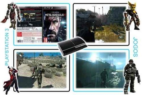 Metal Gear Solid 5 Ground Zeroes Original Playstation 3 PS3 - loja online