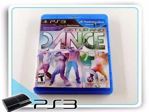 Get Up And Dance Original Playstation 3 PS3