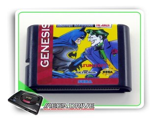 Batman Revenge Of The Joker Sega Mega Drive - Novo
