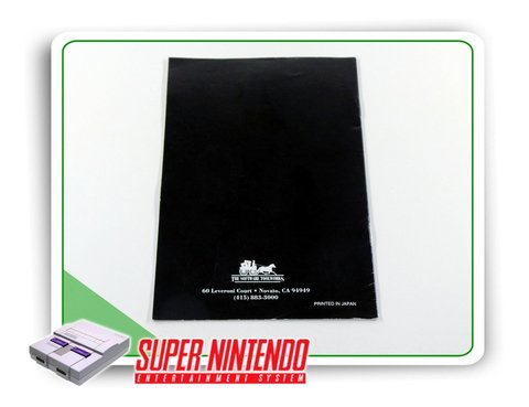 Manual Mario Is Missing Original Super Nintendo Snes - comprar online