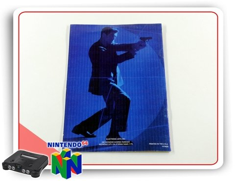 Manual 007 The World Is Not Enough Original Nintendo 64 N64 - comprar online