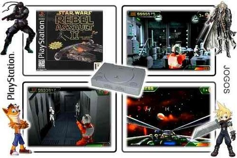 Star Wars Rebel Assault 2 Original Playstation 1 PS1 - loja online