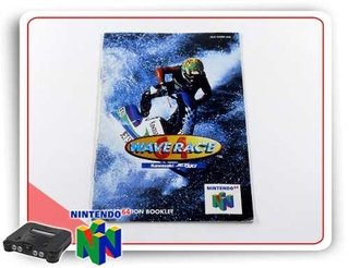 Manual Wave Race 64 Original Nintendo 64 N64