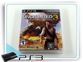 Uncharted 3 Drakes Deception Original Ps3 Playstation 3