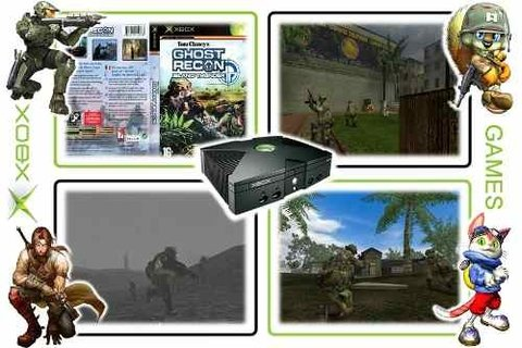 Tom Clancys Ghost Recon Island Thunder Original Xbox Clássic - loja online