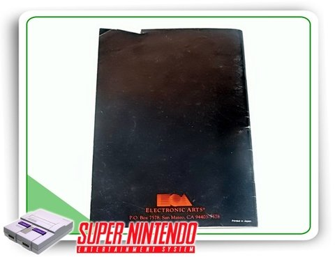 Manual John Madden Football Original Super Nintendo Snes - comprar online