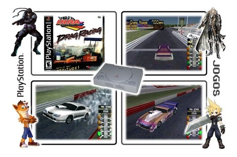 Ihra Drag Racing Original Playstation 1 Ps1 - loja online