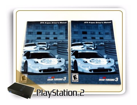 Ps2 Manual Gran Turismo 3 A-spec Original Playstation 2 - comprar online