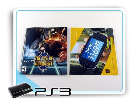 The Eye Of Judgment Original Playstation 3 + Starter Deck - comprar online
