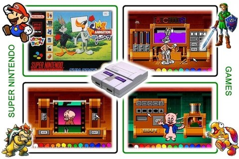 Acme Animation Factory Original Super Nintendo Snes - Radugui Store