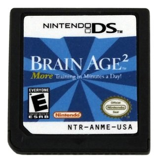 Brain Age 2 Original Nintendo Ds