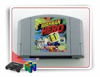 Bomberman Hero Original N64 Nintendo 64