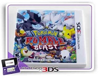 Pokemon Rumble Blast Original Nintendo 3ds