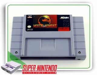 Mortal Kombat Super Nintendo Original Snes