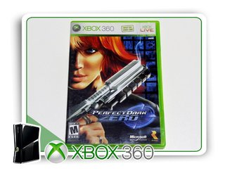 Perfect Dark Zero Original Xbox 360 - Mídia Física