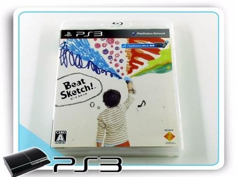Beat Sketch Jap Original Playstation 3 PS3