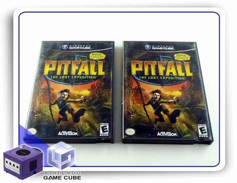 Pitfall The Lost Expedition Original Gamecube - comprar online