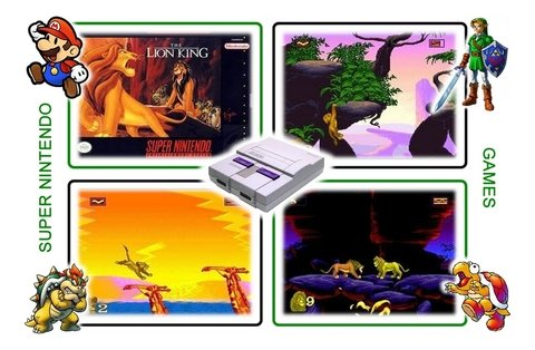 The Lion King Super Nintendo Snes Original - loja online