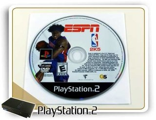 Espn Nba 2k5 Original Playstation 2 Ps2