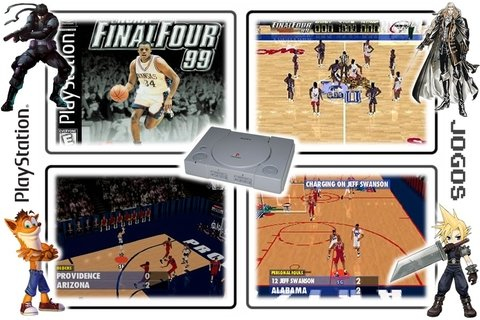 Ncaa Final Four 99 Original Playstation 1 Ps1 - Radugui Store
