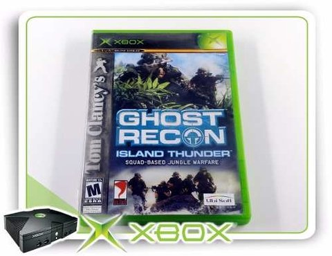 Tom Clancys Ghost Recon Island Thunder Original Xbox Clássic