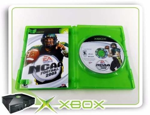 Ncaa Football 2003 Original Xbox Clássico na internet